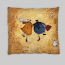 Samtoft Style días Mezcla Lino Doble Cara Cushion Covers 18X18
