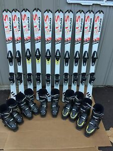 Head BYS 138cm Complete Ski Package w/ Boots & Bindings!!