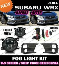 for SUBARU 18 WRX Base Fog Light Driving Lamp Kit w/ switch wiring (CLEAR)