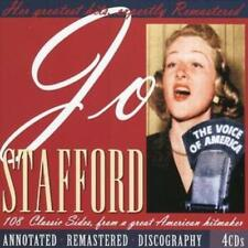 Jo Stafford : 108 Classic Sides from a Great American Hitmaker CD 4 discs