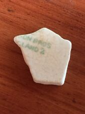 Sea Pottery Shard USA Eastern Shore Maryland Chesapeake Bay UD59