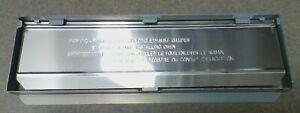 WB06X10938 & WB06X10935 GE Microwave Exhaust Damper Bracket & Air Guide JVM3160