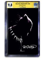 BLACK PANTHER #25 VIRGIN EXCLUSIVE - CGC SIGNATURE SERIES 9.8! PREORDER!