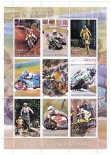 Motocicletta Moto Racing repoblikani madagasikara 1999 MNH STAMP SHEETLET