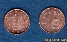 Espagne - 2016 - 5 Centimes D'Euro - Pièce neuve de rouleau - Spain