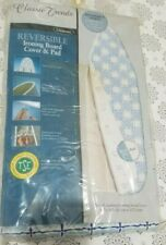 Reversable Ironing Board Cover & Pad - deep nose fit scorch resistant Iron Board