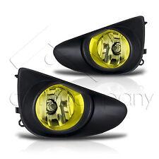 2012-2014 Yaris 2/4Dr Fog Lights w/Wiring Kit & Wiring Instructions - Yellow