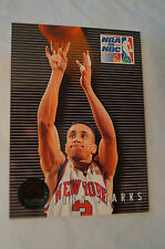 NBA CARD - Sky Box - NBA on NBC - John Starks - Knicks vs Bulls.