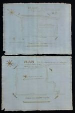 1823 Beaumont France Plot Plans Or Documents For Property Of Jacques Boucheron