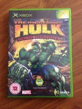 Incredible Hulk: Ultimate Destruction (Microsoft Xbox, 2005)