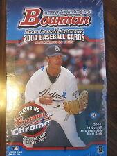 Factory Sealed Hobby Box - 2004 Bowman Draft Picks & Prospects Baseball Cards
