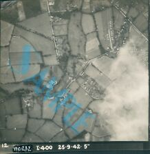 Orig WW2 Photo Ariel shots of Kent Testing view of Camouflaged  defences