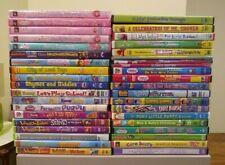 Lot of 39 Children's DVDs: Barney, VeggieTales, Sesame Street, The Wiggles...