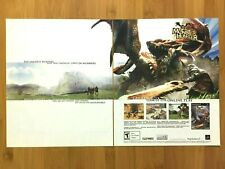 Monster Hunter PS2 Playstation 2 2004 Vintage Print Ad/Poster Official Promo Art