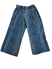 Robert Louis Palazzo Blue Pants