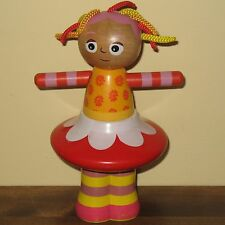 In The Night Garden Upsy Daisy Wooden Stacker Doll Toy BBC