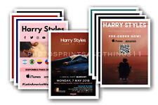HARRY STYLES - 10 promotional posters  collectable postcard set # 1