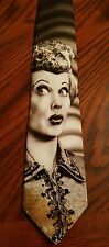 Vintage Ralph Marlin LUCILLE BALL Tie I LOVE LUCY 1994 Original Necktie GUC