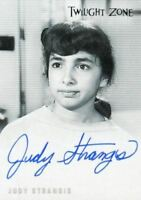 Twilight Zone 4 Science and Superstition Judy Strangis Autograph Card A-79