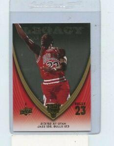 Michael Jordan 2008-09 Upper Deck Michael Jordan Legacy #556  Chicago Bulls