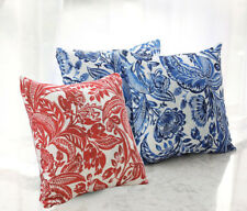 Both Sides Paisley Pattern Polyester Cushion Cover Sofa Throw Pillow Case