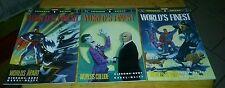 Superman Batman Worlds Finest 1-3 Complete Set 1990 Vf vs movie joker lex luthor