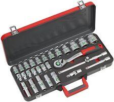 MEISTER - coffret 24 douilles + clé à cliquet + 3 accessoires - ref : 8429100