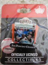 "SF Giants ""Panda Puts One Express"" Pablo Sandoval Pin Sporting Green - NEW"