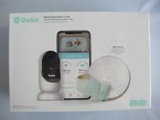 Owlet Smart Sock + Cam Heart Rate Oxygen Video Audio Baby Monitor Solution