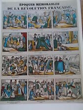 Print Memorable Epochs of the French Revolution Napoleon THE NINETEENTH CENTURY