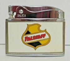 Vintage Falstaff Beer Wellington Balboa Lighter with box Carroll Iowa