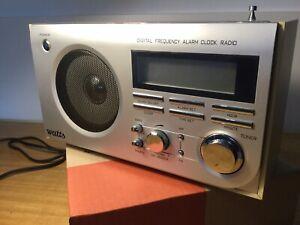 Digital Alarm Clock Radio Frequency Power AC 240 V Watts