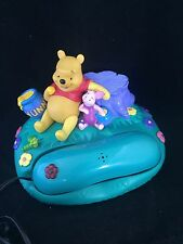 Winnie The Pooh & Piglet Mains Telephone In Green - Vintage Model 105POOH