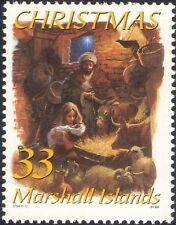 Marshall Islands 1999 Christmas/Greetings/Nativity/Cattle/Donkey/Stable 1v b528f
