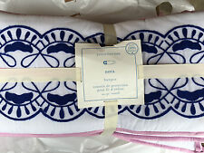 Pottery Barn Kids Nora Embroidered Crib Bumper New Sold Out @Pbk