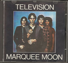 TELEVISION MARQUEE MOON Tom Verlaine CD NEW 8 track