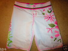 Quiksilver Roxy Surfing Pink Board Surf Shorts Girls 3