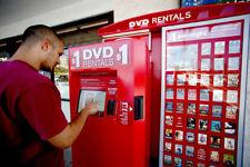 DVD Blu Ray Vending Machine Kiosk Business Plan NEW