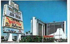 MGM MOVED Las Vegas Hotel Casino postcard Joan Rivers Mac Davis Hallelujah! N