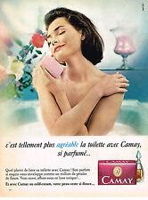 PUBLICITE ADVERTISING  1965   CAMAY  savon