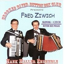 Fred Ziwich Slovak/Czech Button Box Polkas New CD Great