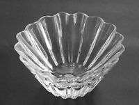 """LENOX crystal WATERSCAPE COLLECTION Scalloped Bowl 4 1/2"""" Tall X 9"""" Diameter"""