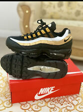 Nike Air Max 95 Black Gold White size 10 Brand new In Box euro 45