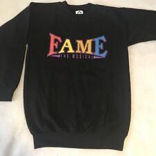 New! FAME The Musical Sweatshirt Small or Medium - THE FIRST 'GLEE'!