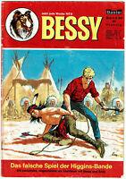BESSY Nr. 59 - Das falsche Spiel der Higgins-Bande - Bastei Verlag (1965-1985)