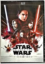 The Last Jedi -Star Wars Episode VIII - NEW! (DVD, 2018) FREE SHIPPING!