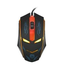 Generic Fast 3200DPI 2.4G Led Optical USB Wired Gaming Mouse Mice for Laptop Red