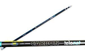 Full Carbon  Fishing Telescopic Landing Net Handle 2 3 4 5 or 6 Metre