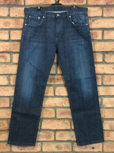 Citizens Of Humanity Men Blue Denim Straight Faded core Jeans USA Size 36 x 31