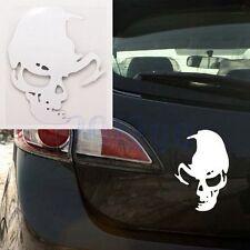 Crâne Vinyle Autocollant Voiture Auto Tête De Mort Sticker Car Skull Crâne HG